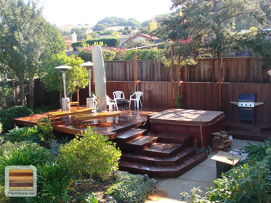 Backyard Deck Images : San Francisco Deck Project  A Private Garden Ipe Deck